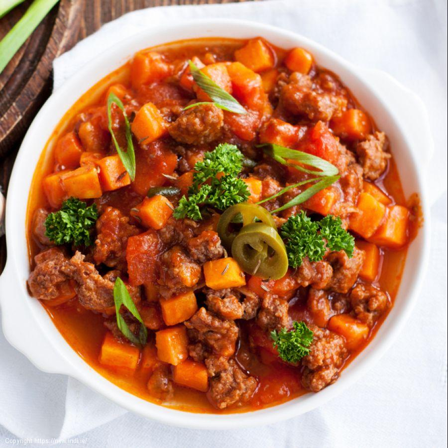 Mexican Beef and Sweet Potato Stew